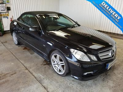 Image of 2011 MERCEDES E-CLASS E250 CDI BLUEEFFICIENCY SPORT 2143cc TURBO DIESEL AUTOMATIC 5 Speed 2 DOOR CONVERTIBLE