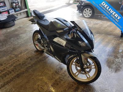 Image of 2012 YAMAHA YZF 125cc PETROL MOTORCYCLE