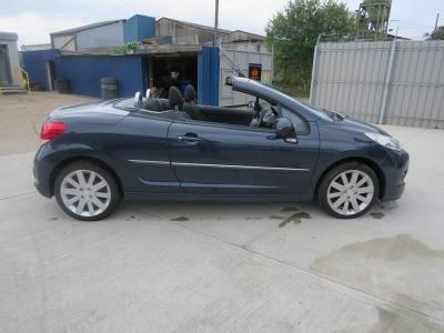 Image of 2012 Peugeot 207 Hdi Ccure 1560cc Turbo Diesel Manual 6 Speed 6 Convertible