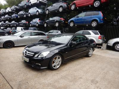 Image of 2011 Mercedes-Benz E Class E350 Sport CDi BlueEfficiency 2987cc Turbo Diesel Automatic 7 Speed 2 Door Cabriolet