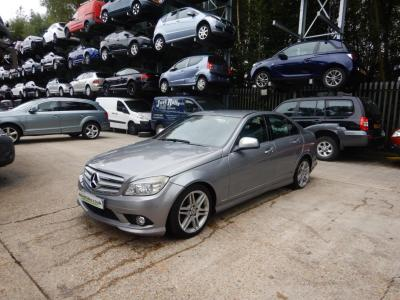 Image of 2007 Mercedes-Benz C Class C220 Sport CDi 2148cc Turbo Diesel Automatic 5 Speed 4 Door Saloon