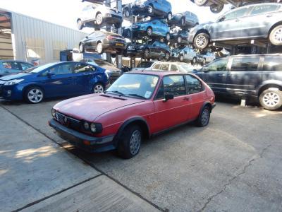 1984 Alfa Romeo Alfasud 901 TI 1490cc Petrol Manual 5 Speed 3 Door Hatchback