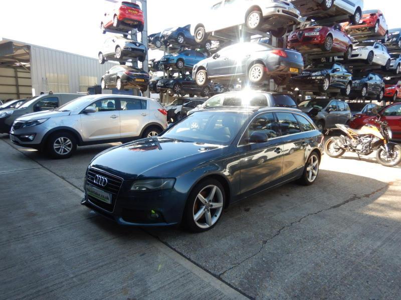 2008 Audi A4 SE Quattro TDi 4WD 2967cc Turbo Diesel Manual 6 Speed 5 Door Estate
