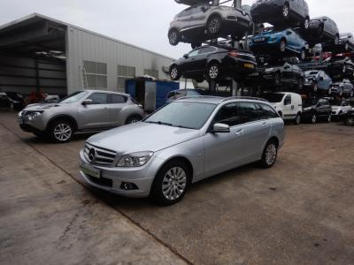 Image of 2010 Mercedes-Benz C Class C250 Elegance CDi BlueEfficien 2143cc Turbo Diesel Automatic 5 Speed 5 Door Estate