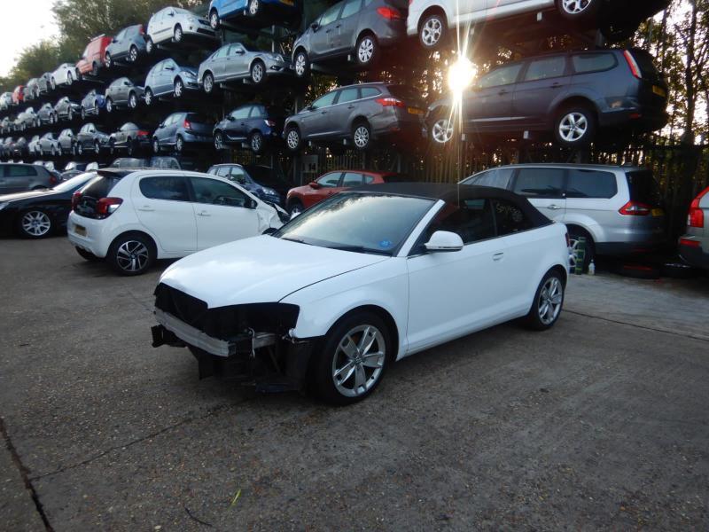 2009 Audi A3 Sport TDi 1598cc Turbo Diesel Manual 5 Speed 2 Door Cabriolet