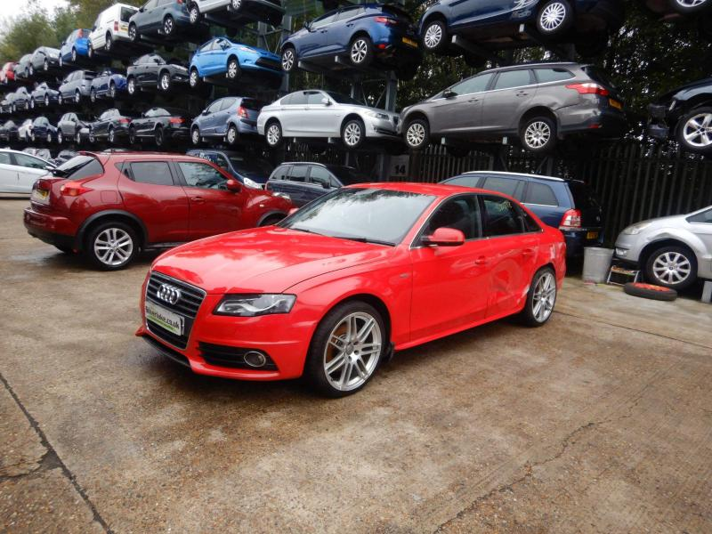 2010 Audi A4 S Line Special Edition 1984cc Turbo Petrol Manual 6 Speed 4 Door Saloon