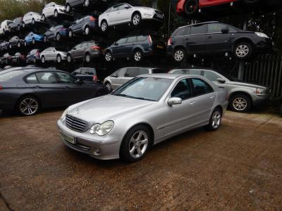 Image of 2004 Mercedes-Benz C Class C200 Avantgarde SE CDi 2148cc Turbo Diesel Automatic 5 Speed 4 Door Saloon