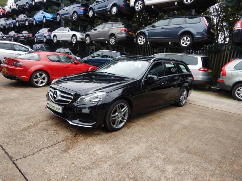 2015 Mercedes-Benz E Class E220 AMG Line Premium Plus Blu 2143cc Turbo Diesel Automatic 7 Speed 5 Door Estate
