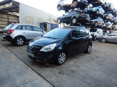 Image of 2011 Vauxhall Meriva Exclusiv 1364cc Turbo Petrol Manual 6 Speed 5 Door Hatchback