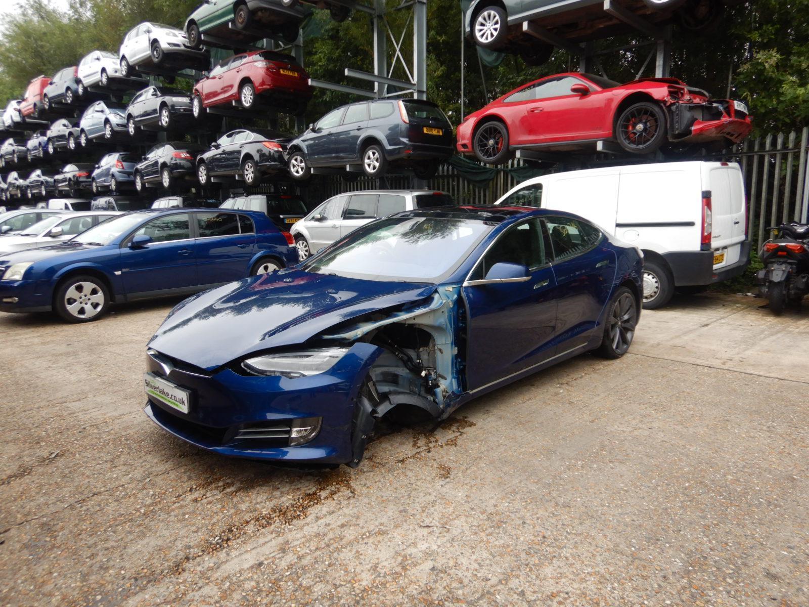 2017 Tesla Model-S 75D 4WD Electric Automatic 1 Speed 5 Door Hatchback