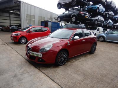 Image of 2010 Alfa Romeo Giulietta Cloverleaf 1742cc Turbo Petrol Manual 6 Speed 5 Door Hatchback