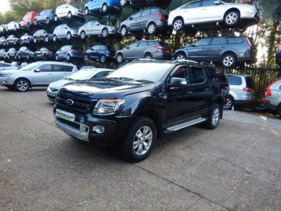 2014 Ford Ranger D/Cab Wildtrack 4WD