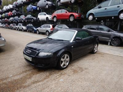 Image of 2005 Audi A4 Sport 1781cc Turbo Petrol Manual 5 Speed 2 Door Cabriolet
