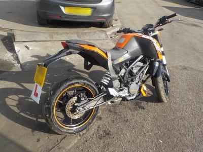 Image of 2012 KTM EXC 125 125cc PETROL Car / PLG