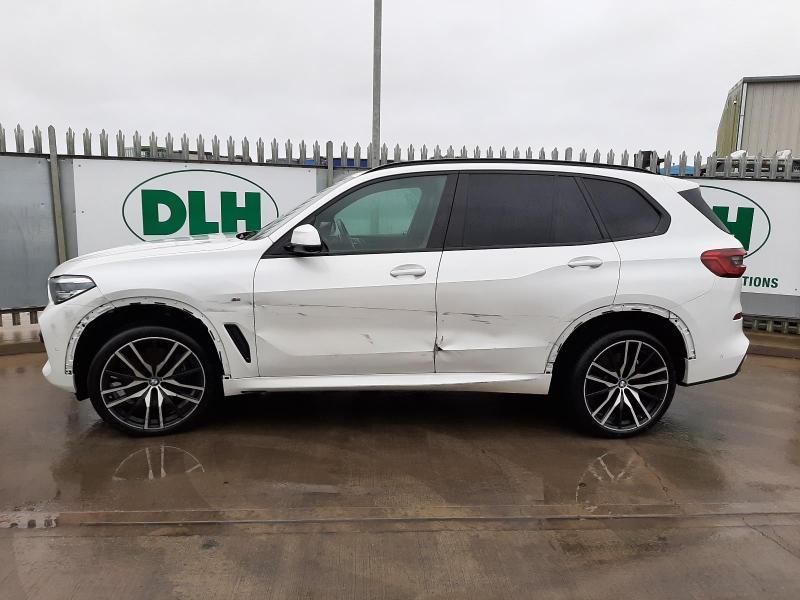 2019 BMW X5 XDRIVE30D M SPORT 2993cc TURBO DIESEL AUTOMATIC 5 DOOR ESTATE