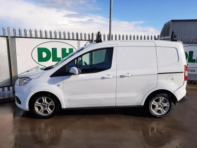 Image of 2018 FORD TRANSIT COURIER LIMITED TDCI 1499cc TURBO DIESEL MANUAL 2 DOOR PANEL VAN