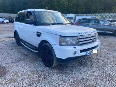 Image of 2006 Land Rover Range Rover Sport Tdv6 Hse Auto Blue / White 2720cc SUV