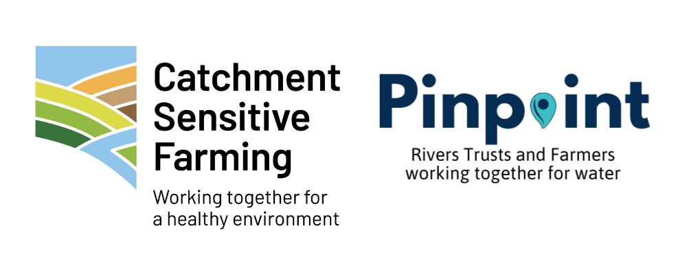 Pinpoint Catchment Sensitive Farming logo strip