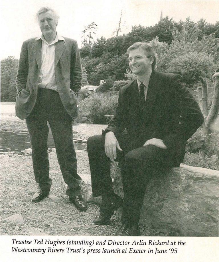 Arlin Rikard and Ted Hughes