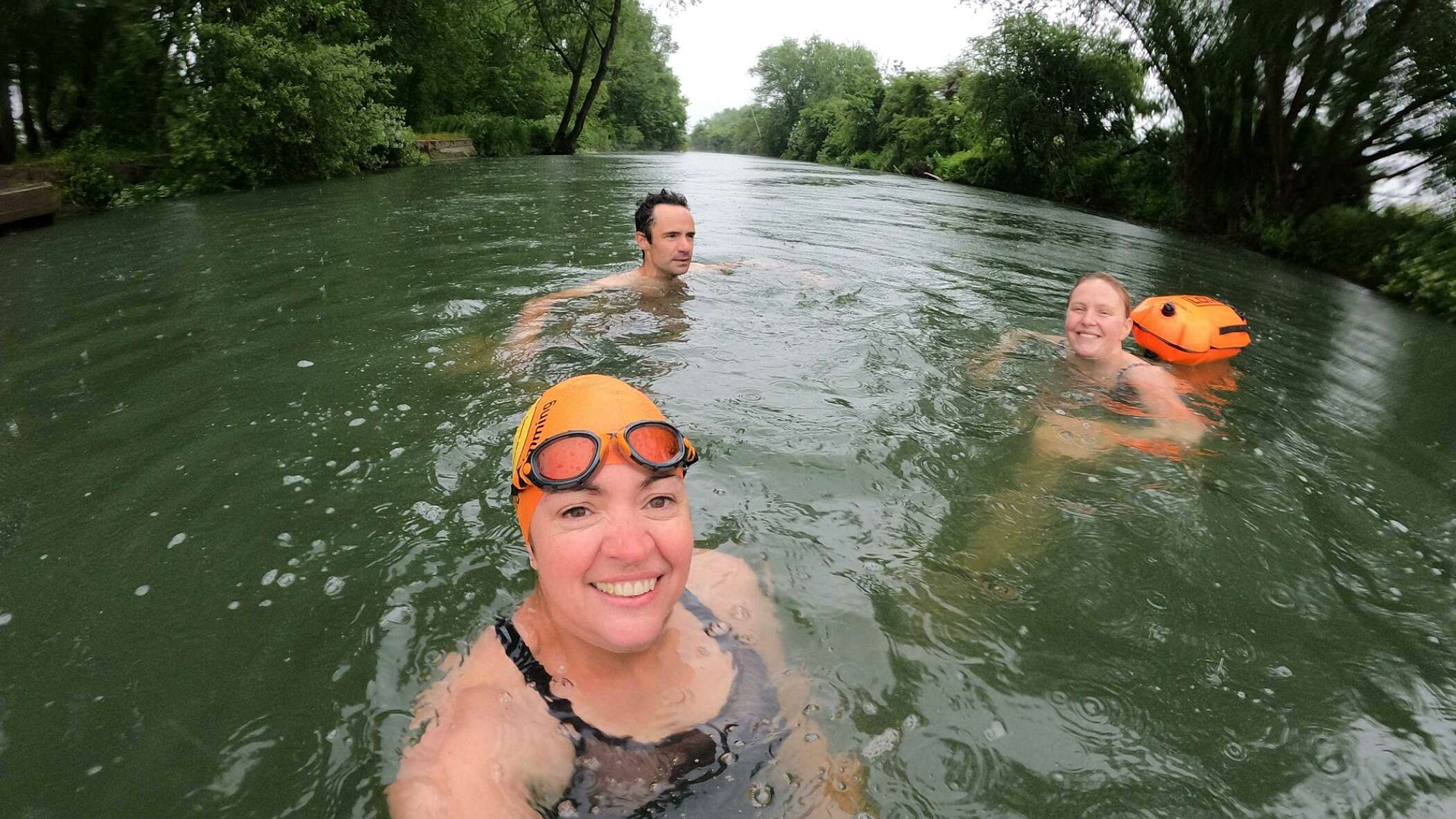 Michelle Walker wild swimming