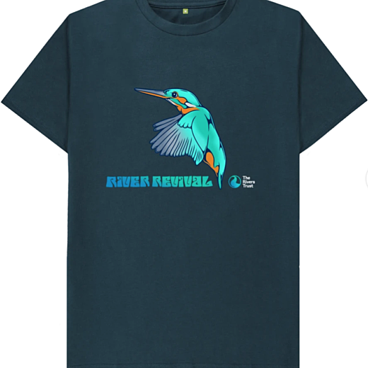 T-shirt with River Revival graphic