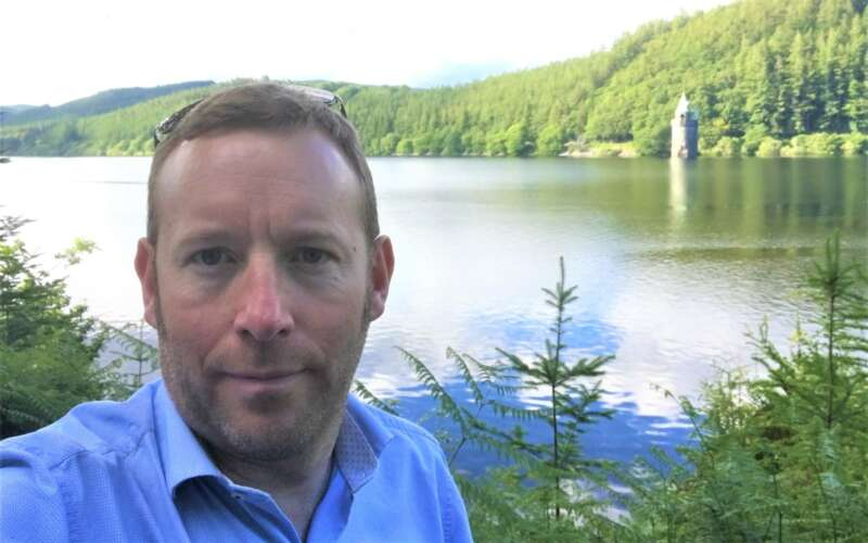 John Brewington by river