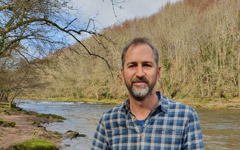 Mark Lloyd by river