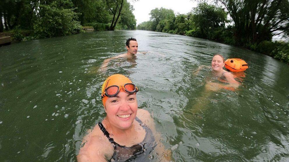 The Wild Dart Swim: fingers crossed