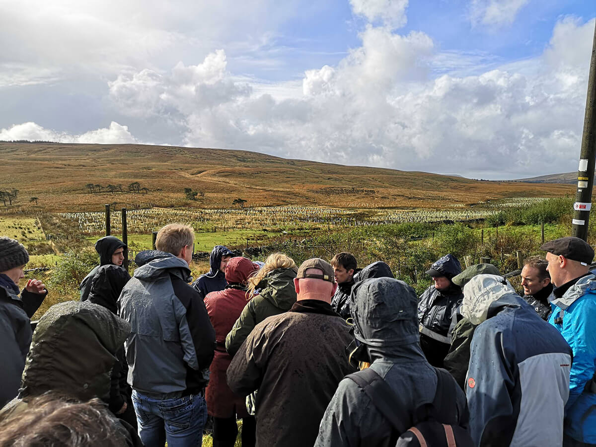 Yorkshire Dales Natural Flood Management Site Visit