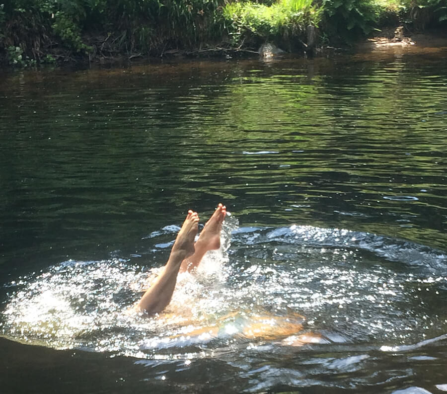 Wild River Swimming