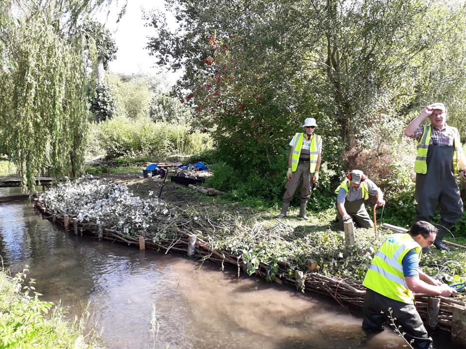 River restoration, Ramsbury, Action for the River Kennet