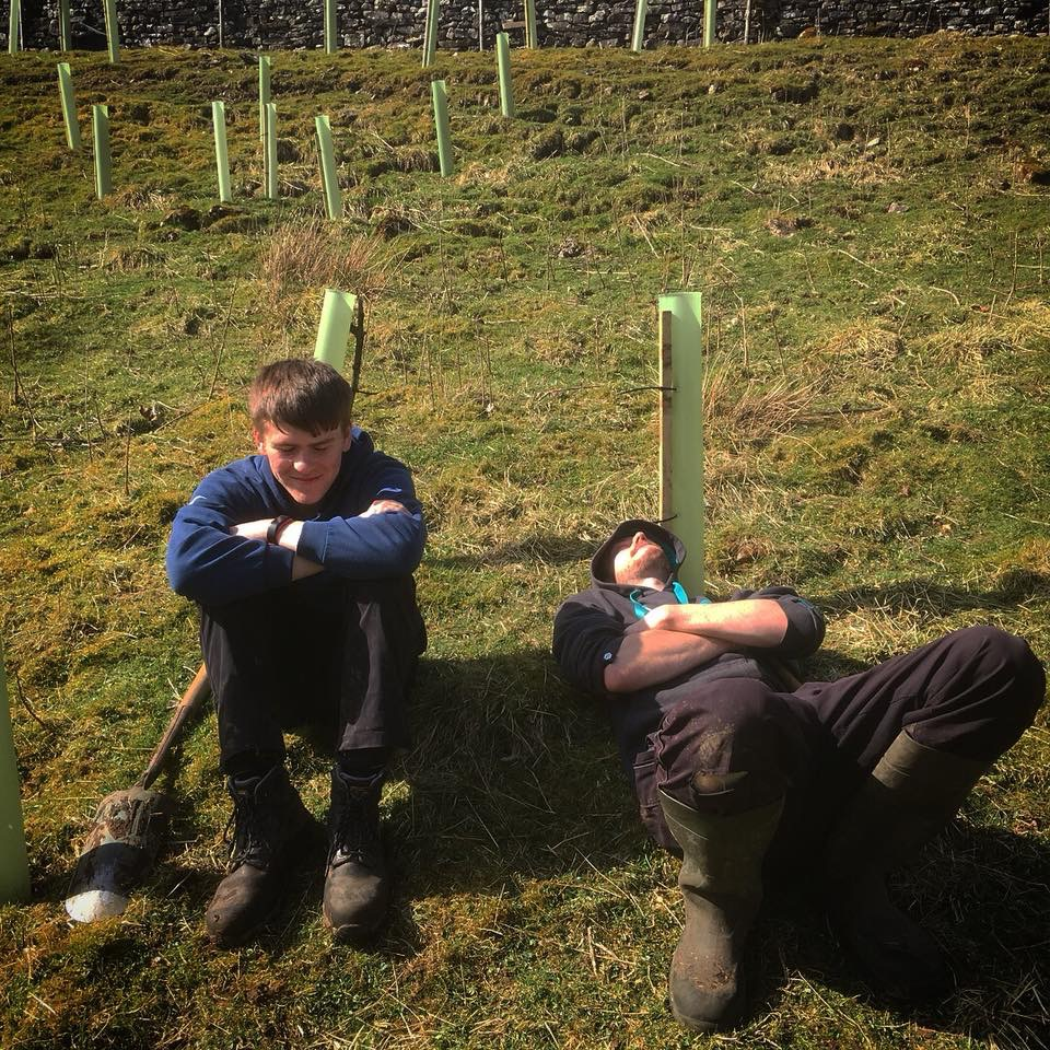 Yorkshire Dales Rivers Trust: Tree Planting