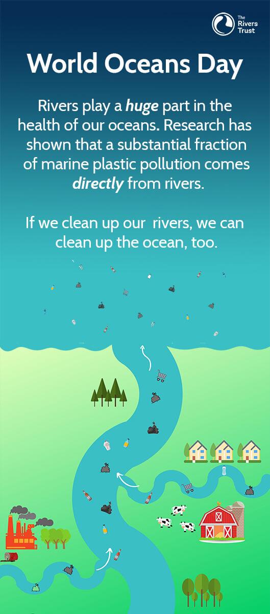 World Oceans Day Diagram