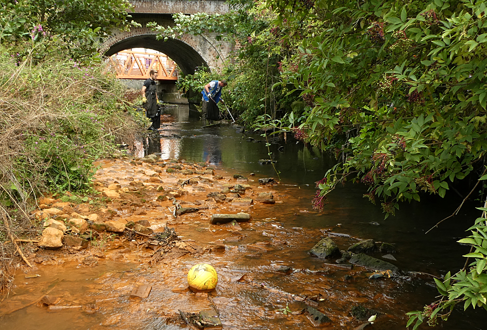 Tapton Mill Bridge Volunteer Day – River Rother, Don Catchment Rivers Trust