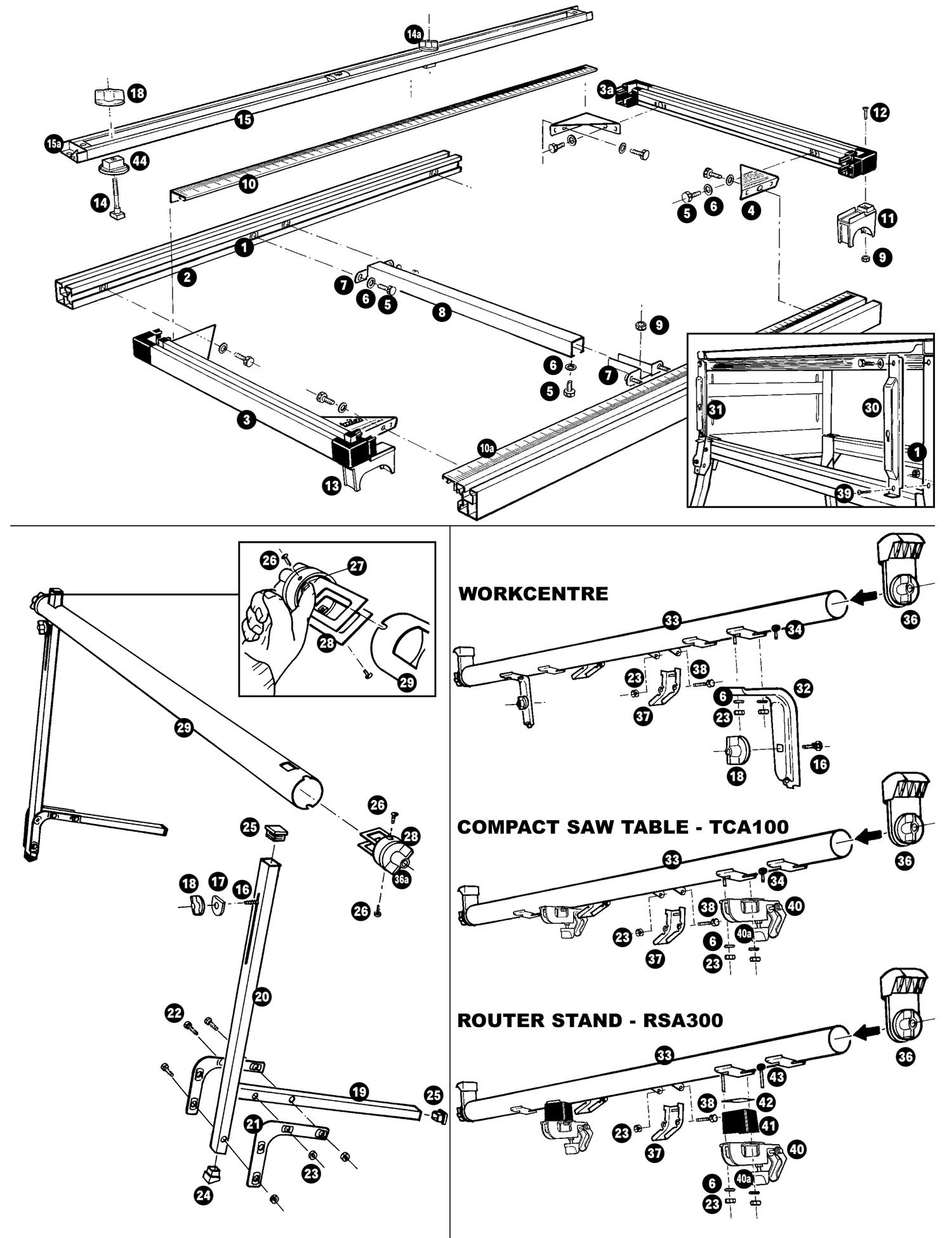 tool spares online  mini sliding table
