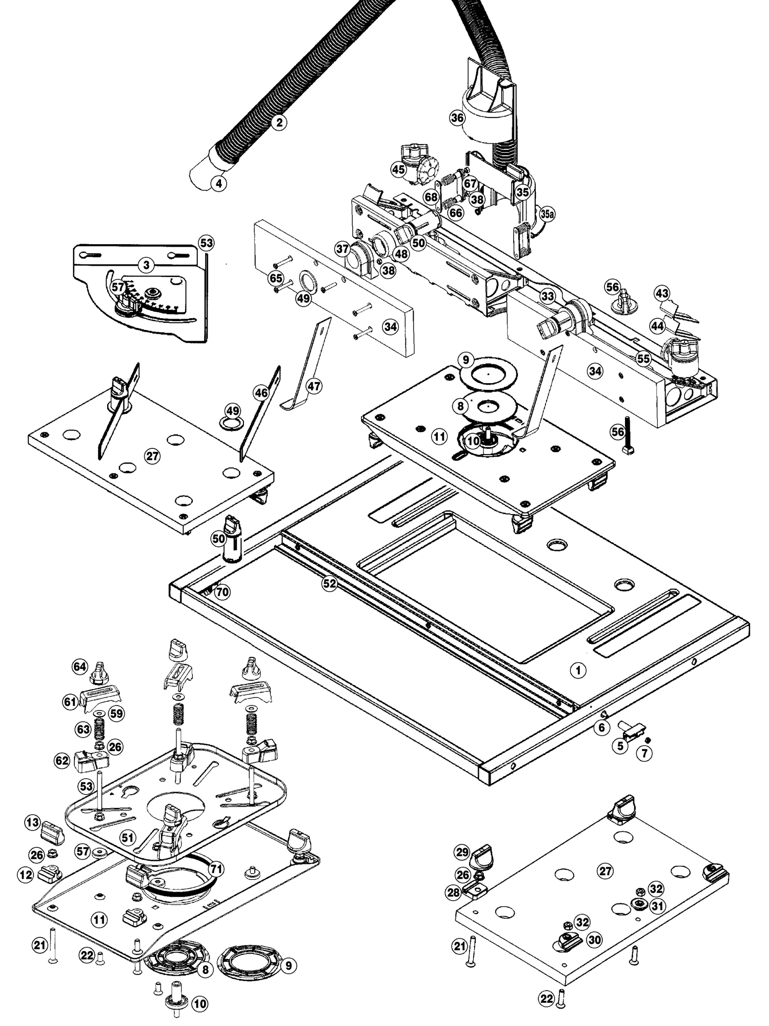 Tool spares online precision router table view schematic diagram triton precision router table keyboard keysfo Image collections
