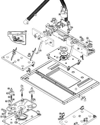 View Schematic Diagram Triton Precision Router Table