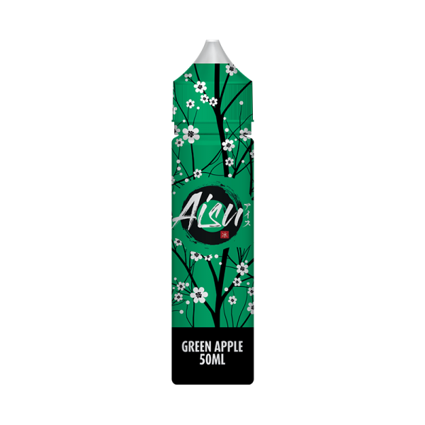 Aisu Green Apple E Liquid 50ml Shortfill