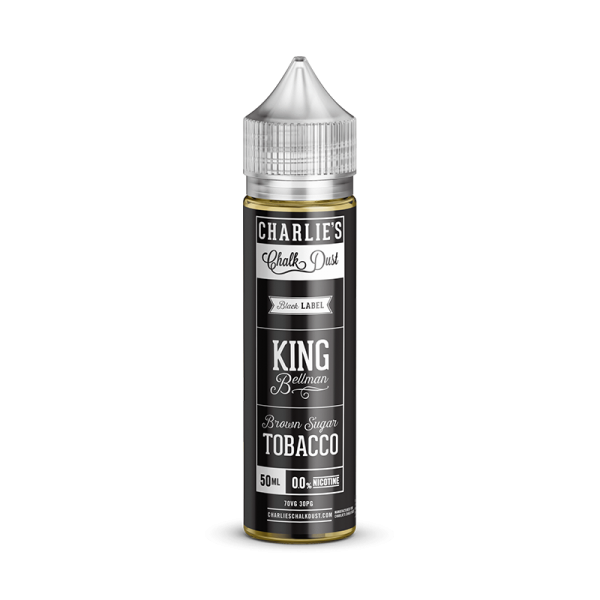 Charlies Chalk Dust King Bellman E Liquid 50ml Shortfill