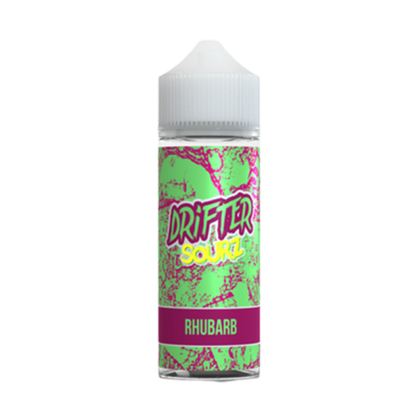 Drifter Sour Rhubarb E Liquid 100ml Shortfill