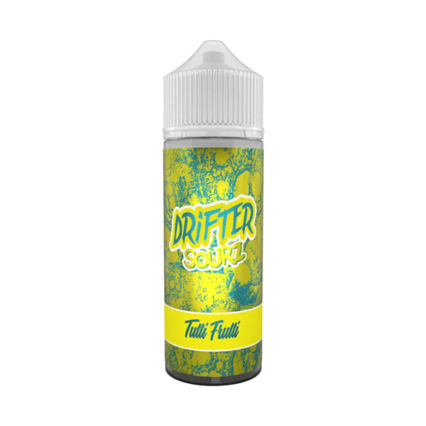 Drifter Sour Tutti Frutti E Liquid 100ml Shortfill