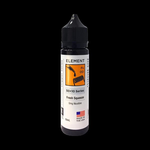 Element Fresh Squeeze E Liquid 50ml Shortfill