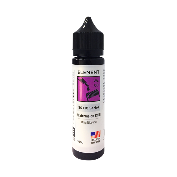 Element Watermelon Chill Dripper E Liquid 50ml Shortfill