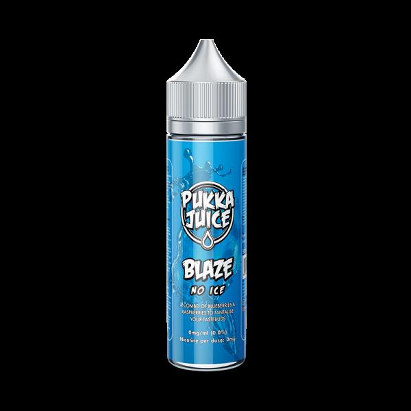 Pukka Juice Blaze No Ice E Liquid 60ml Shortfill