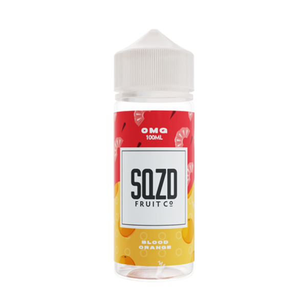 Sqzd Blood Orange E Liquid 100ml Shortfill