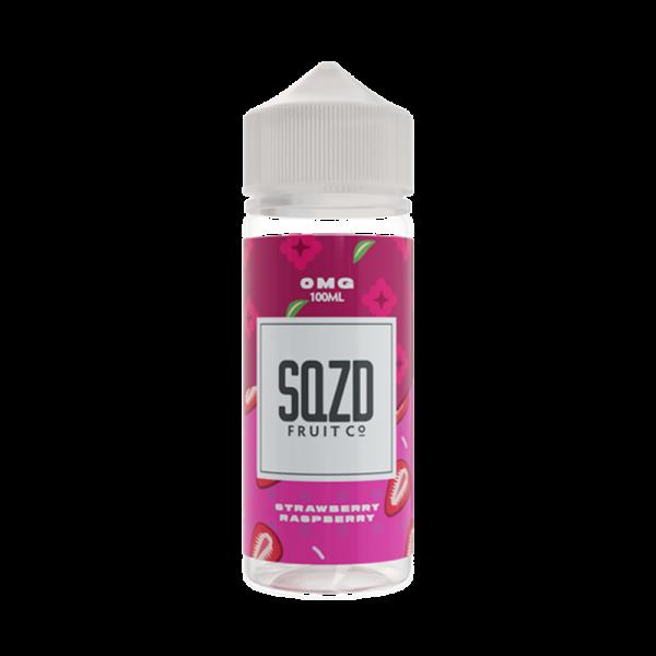 Sqzd Strawberry Raspberry E Liquid 100ml Shortfill
