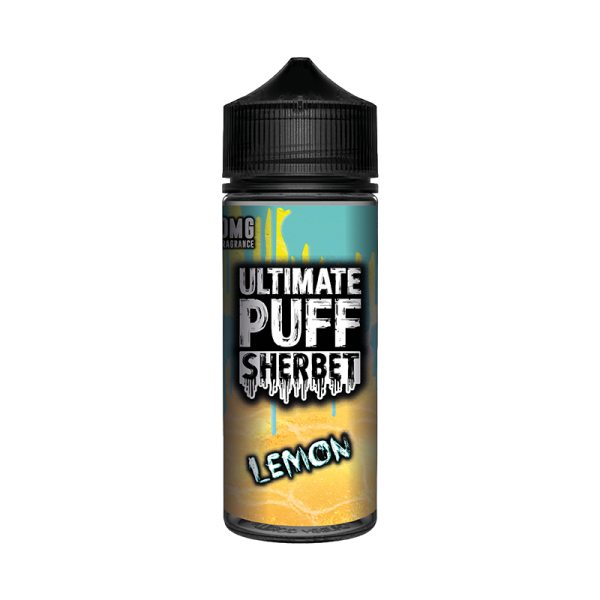 Ultimate Puff Sherbet Lemon E Liquid 100ml Shortfill