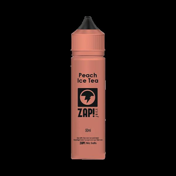 Zap! Juice Peach Iced Tea E Liquid 50ml Shortfill
