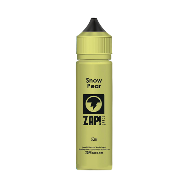 Zap! Juice Snow Pear E Liquid 50ml Shortfill
