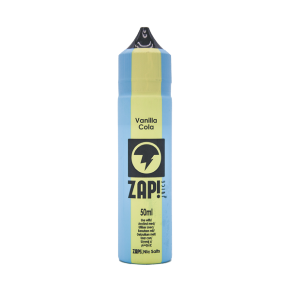 Zap! Juice Vanilla Cola E Liquid 50ml Shortfill